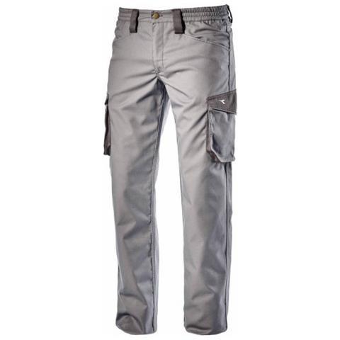 100% high quality on wholesale utterly stylish Utility Diadora Pantalone Da Lavoro Esivo Utility Diadora Staff Grigio  702.160301
