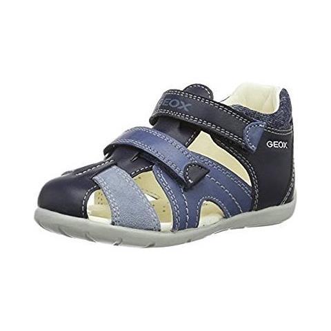 moda di lusso fashion style prese di fabbrica GEOX B Kaytan C, Scarpe Primi Passi Bimbo, Blu (navy / lt Bluec0693) Tg