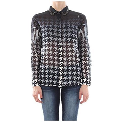 GUESS Camicia Maniche Lunghe Donna Nero L