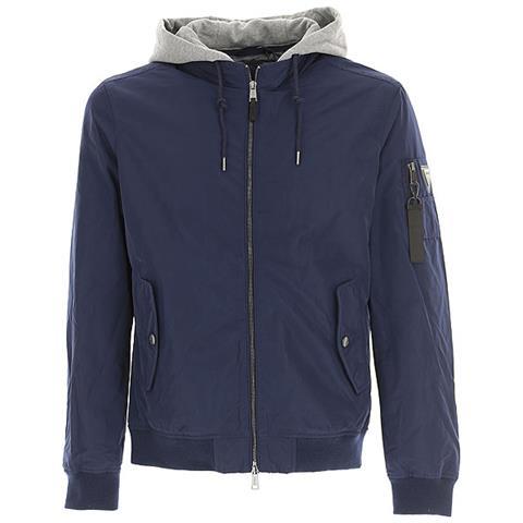 GUESS Giubbino Giubbotto Uomo Guess M91l23wb0l0 G720 Jacket Originale Pe 2019 New Taglia 2xl Colore Blu