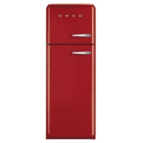 SMEG Frigorifero Doppia Porta FAB30LR1 Anni \'50 Classe A++ Capacità Lorda /  Netta 295/293 Litri Colore Rosso