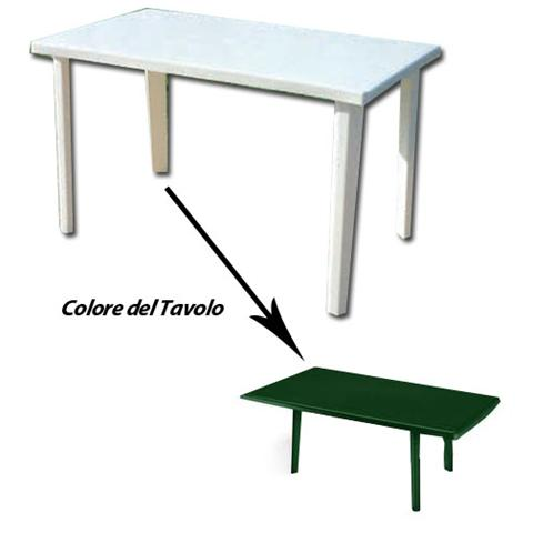 Tavolo Da Giardino 120 X 70.Homegarden Tavolo In Resina Antiurto Verde Cm 120 X 70 Da Giardino