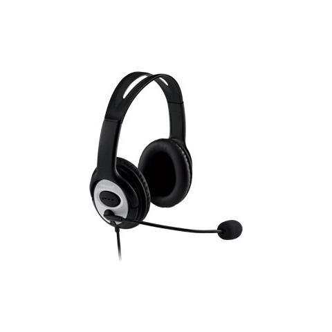 MICROSOFT Lifechat Lx-3000 Stereofonico Padiglione Auricolare Nero Cuffia E  Auricolare Jug-00014 bd5d529c33eb