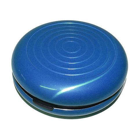 95d339365c H-Tech - Portamonete Rigido In Metallo Alluminio Per Euro Monete Chiusura  Clip, Colore: Blu - ePRICE