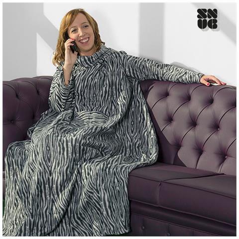 Coperta Con Le Maniche Leopardata.Giordanoshop Coperta Con Maniche Snug Snug Big Tribu Colore