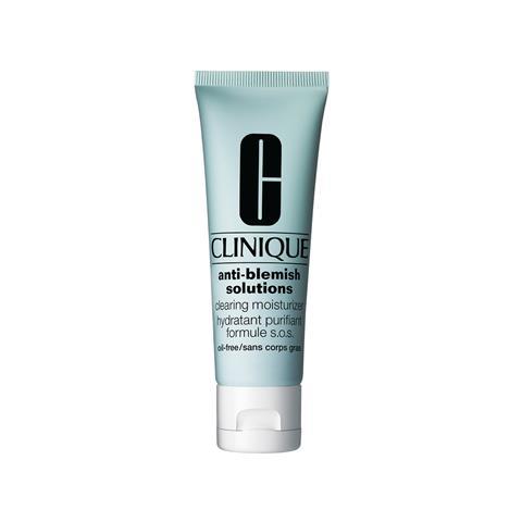 low cost half off discount sale CLINIQUE Anti-Blemish Solutions Clearing Moisturizer gel idratante  purificante anti imperfezioni 50 ml