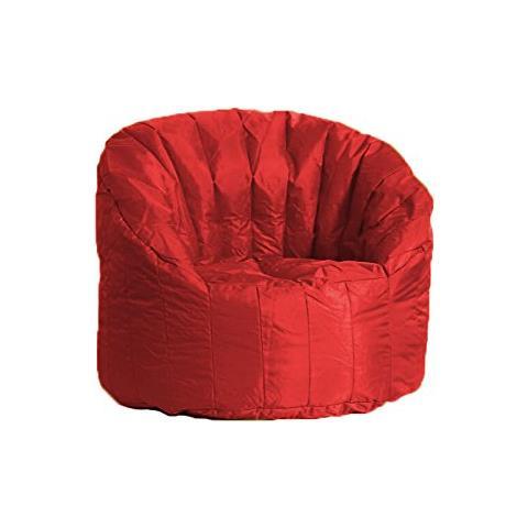 Poltrona Sacco Tartuga.Avalli Poltrona Pouf Tortuga In Nylon Rossa Avalli