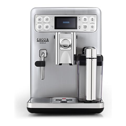 GAGGIA - Macchina da Caffè Espresso Automatica 1400 W Colore Argento ...