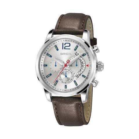 comprare popolare 4149a a7922 breil Orologio Uomo Cronografo Contempo Tw1372 con Cinturino In Pelle  Marrone