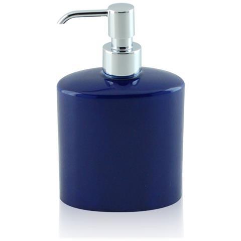 Lonheo Dispenser di sapone e lozione incorporato cromato con bottiglia da 500 ml Dispenser di detersivo per lavello da cucina in Lation cromato