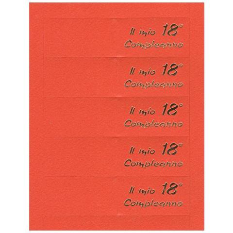 Rc2 Corporation 50 Bigliettini Bigliettini Per Diciottesimo