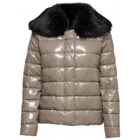 save off 9dbcd f0372 Only - Winter Cathy Fur Nylon Jacket Piumino Donna Taglia Xl ...