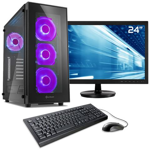 computer fisso da gaming 2060  Sedatech - Pack Pc Gaming, Intel I7, Rtx 2060, 250gb Ssd, 2tb Hdd ...
