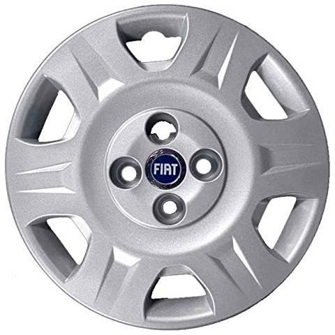 "autoforniture italia - Set 4 Copricerchi 14"""" Pollici Per Fiat"