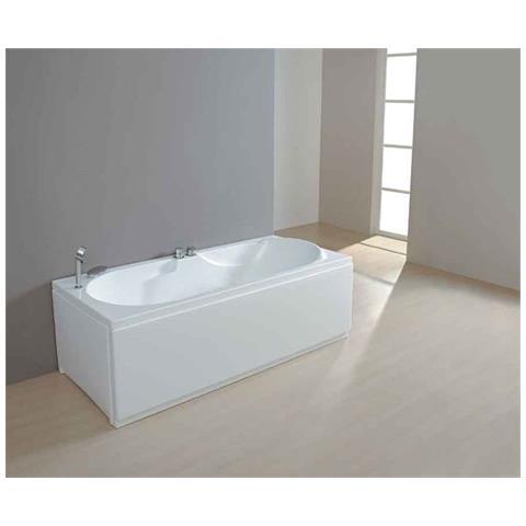 Vasca Da Bagno Con Pannelli.Aqualife Vasca Da Bagno Rettangolare In Acrilico Volupia 150x70