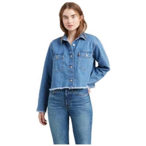 buy popular 70930 3532e LEVI'S - Rania Shirt Camicia Di Jeans Per Donna Taglia L ...