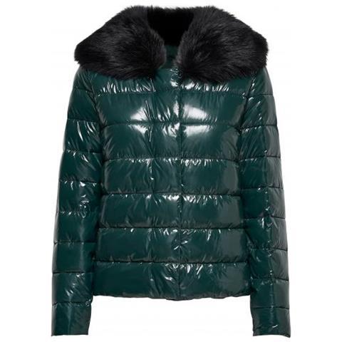 save off 7266f d9173 Only - Winter Cathy Fur Nylon Jacket Piumino Donna Taglia Xl ...