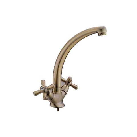 HOMEGARDEN - Miscelatore rubinetto lavello in ottone bronzato per ...
