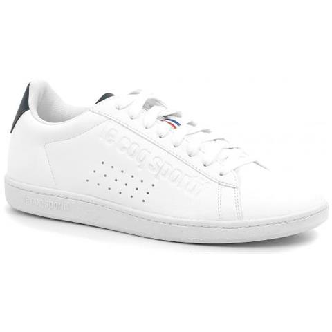 fbe605ea97 LE COQ SPORTIF - Courtset Sport Optical White / dress Sneaker Uomo ...