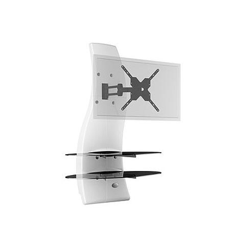 Meliconi Porta Tv Ghost Design 2000.Meliconi Mobile Tv Ghost Design 2000 Rotation Lcd Plasma 32