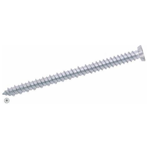 200 pz Viti per Legno Testa Cava CR Zincate Gialle Panelvit  5x100 mm conf
