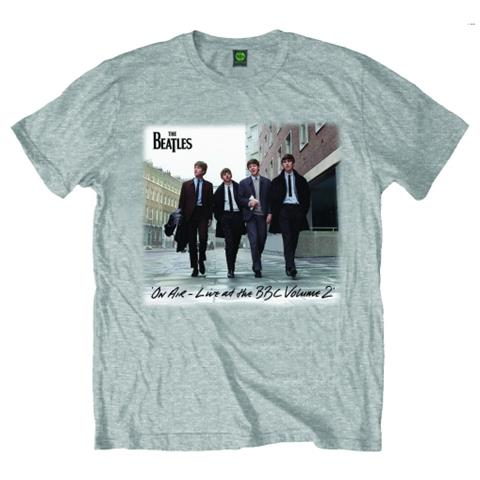 Beatles (The) - On Air Grey (T-Shirt Unisex Tg. M)