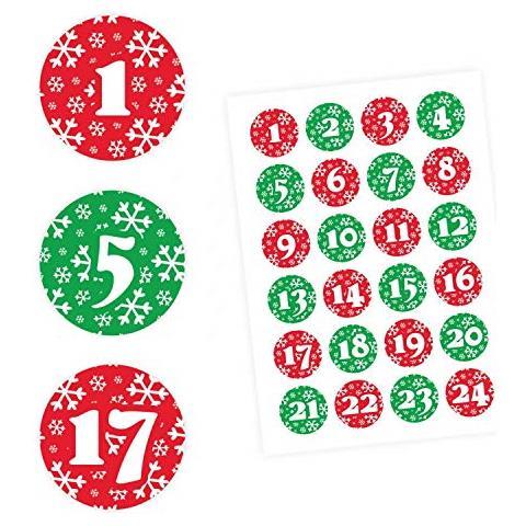 12 Modelli Sacchetti Juta Sacchetto Regalo di Natal con Clip e Corda di Canapa FUNNY HOUSE Calendario Dellavvento 24 Adesivi Numerici Avvento Calendario Avvento da Riempire 24 PCS