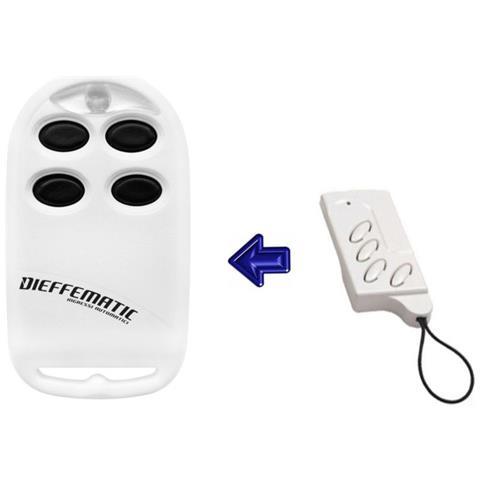 Dieffematic Radiocomando Duplicatore Aprrende 4 Codici Faac Nice