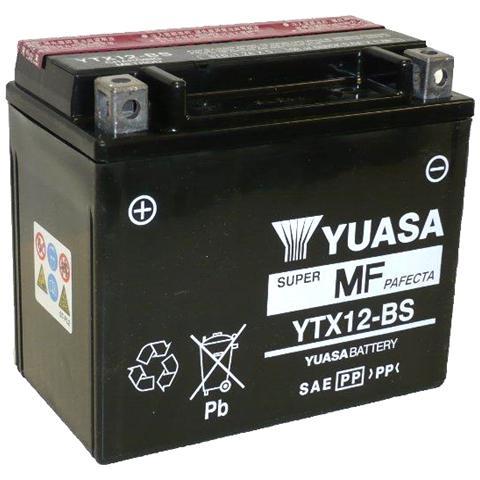 YUASA BATTERIE YB12AL-A aperto senza acido