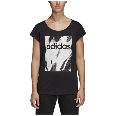 brand new ca642 d56b3 adidas - W Aop Tee T-shirt Da Donna Taglia M - ePRICE
