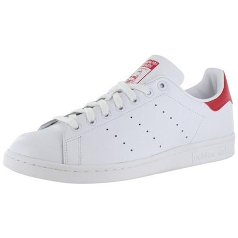 adidas stans smith bianche donna  Adidas - Stan Smith Scarpe Sportive Donna Bianche Rosse M20326 38,5 ...