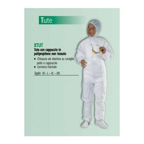 17974a531412d ICOGUANTI - Tuta Con Cappuccio In Polipropilene L - ePRICE
