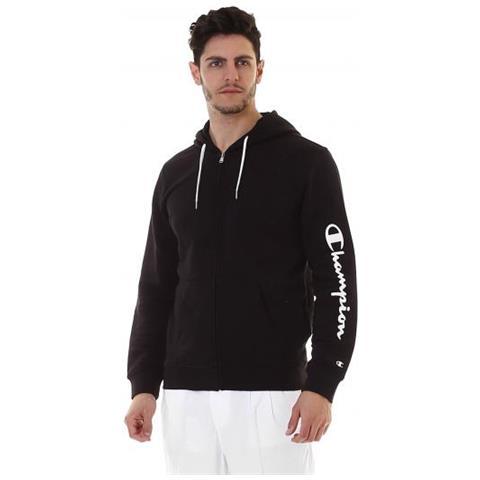 new styles 71b83 de0f8 CHAMPION Hooded Full Zip Sweatshirt Felpa Con Cappuccio Uomo Taglia S