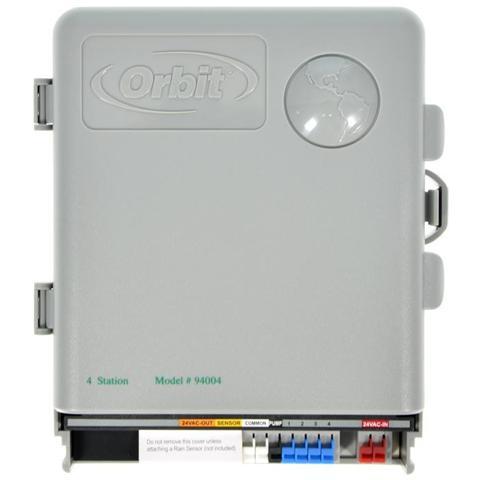 Orbit 4 Stazioni Programmatore Eco Logic Centralina Per Irrigazione Giardino Hunter