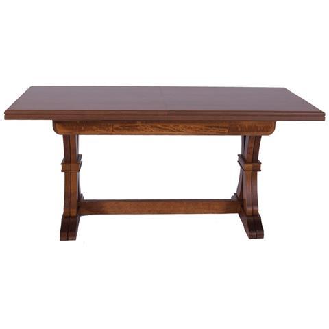 GT ARREDI Tavolo da pranzo allungabile in legno cm 180/360x100 stile arte  povera