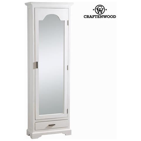 craftenwood - Scarpiera Con Porta A Specchio - Serious Line ...