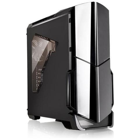 Case Versa N21 Middle Tower ATX / Micro-ATX 1 Porta USB 3.0 Colore Nero (Finestrato)