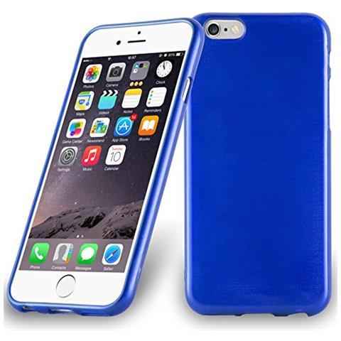 Cadorabo Custodia Per Apple Iphone 6 / Iphone 6s In Blu Marina - Morbida Cover Protettiva Sottile Di Silicone Tpu Con Bordo Protezione - Ultra Slim ...