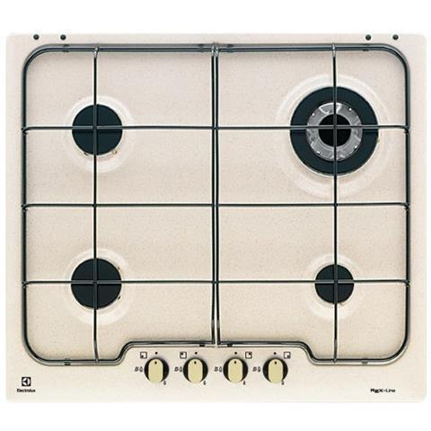 ELECTROLUX - Piano Cottura PS640RUV a Gas 4 Fuochi Gas Colore Avena ...