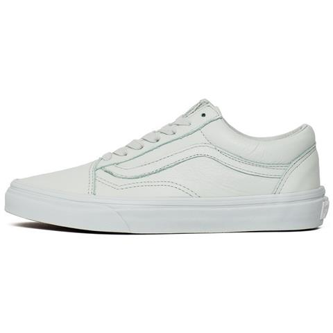 Vans Old Skool Leather VA38G1ONT bianco scarpe basse