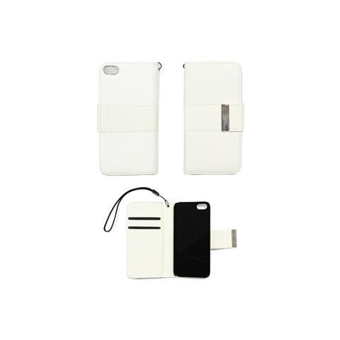 custodia iphone 5 pelle bianca