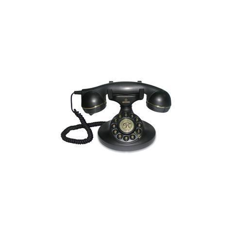 VINTAGE10-BLACK telefono a filo
