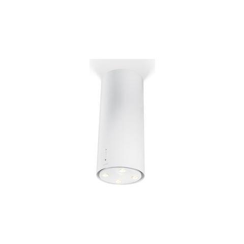 Faber - Cappa ad Isola Cylindra Isola Gloss Finitura Bianco da 37cm ...