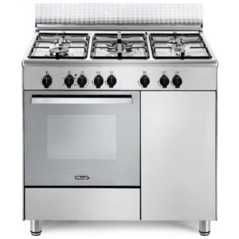 De Longhi Cucina Elettrica Demx96b5 5 Fuochi A Gas Forno Elettrico Multifunzione Ventilato Classe A Dimensioni 90 X 60 Cm Colore Inox Eprice