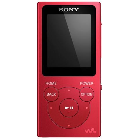 """SONY - Lettore MP3 con Cuffie 8GB Sintonizzatore FM Display da 1.8"""" colore  Rosso - ePRICE e99f0acee493"""