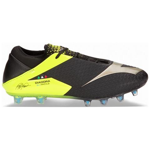 DIADORA Scarpe Calcio Diadora Mw Blushield Rb Fg Taglia 43 Colore: Nero giallo