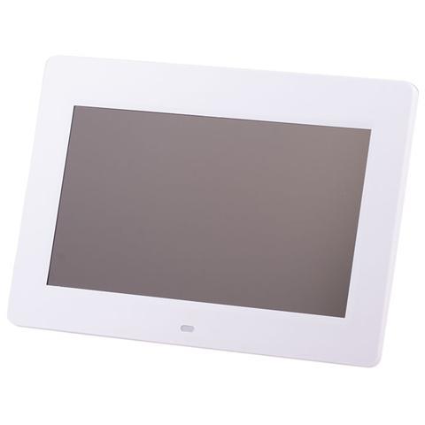 0222001 Cornice Digitale Display Led 10.2'' Lettore SD / MMC / MS / CF porta USB colore Bianco