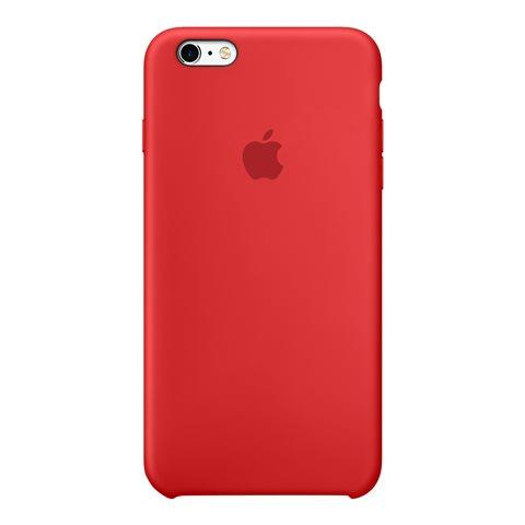 custodia iphone 6 plus silicone rossa