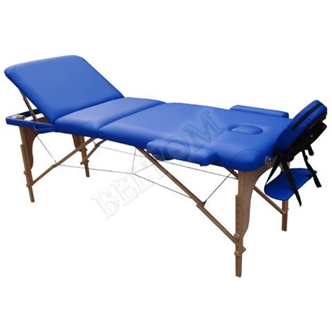 Lettino Pieghevole Per Massaggio.Beltom Lettino Massaggio Classico 3 Zone In Legno Dimensione Xl