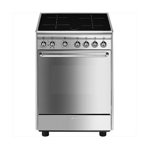 SMEG - Cucina Elettrica CX60ISV9 4 Zone Cottura a Induzione Forno ...